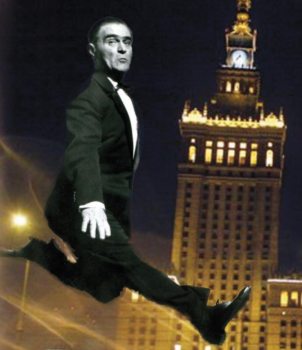 """Z plakatu """"Z Dodkiem po Warszawie"""". Źródło: www.wola.waw.pl"""